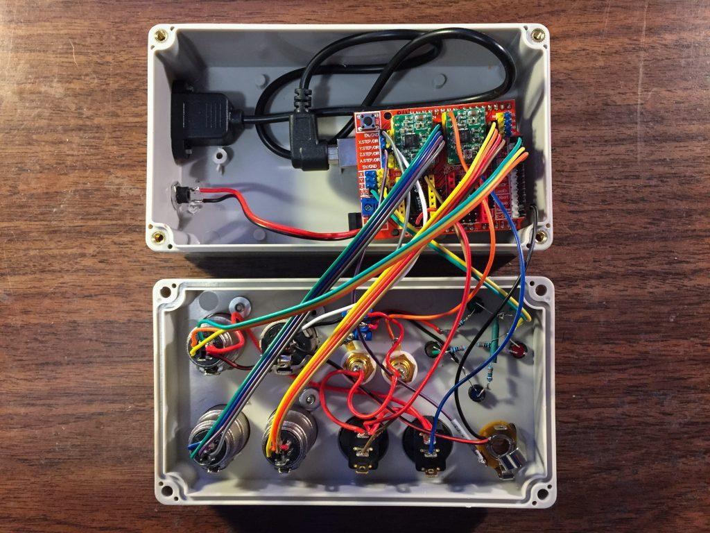 Lotsa wires!